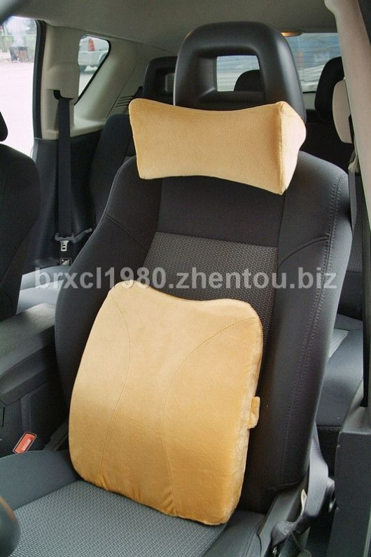 汽车头枕椅子靠枕椅子靠垫记忆棉靠垫腰枕腰椎枕护颈枕脖子枕内饰汽车颈枕